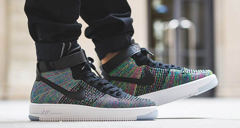 cheap for discount 3116e 69a4b Nike Air Force 1 Mid Ultra Flyknit