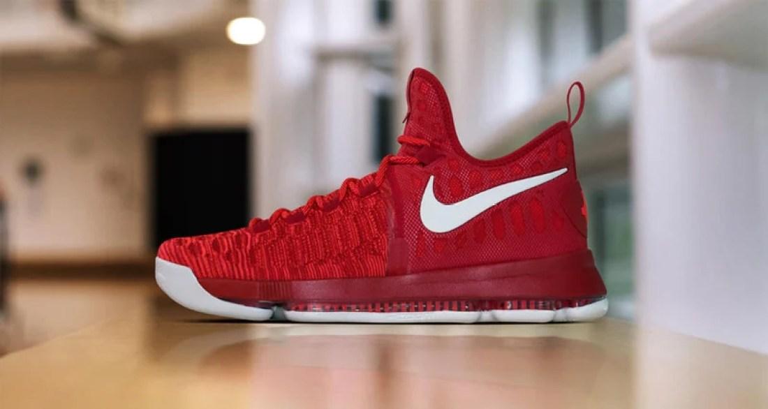 Nike KD 9 Red/White