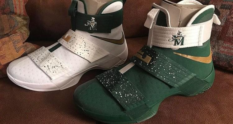 "Nike LeBron Soldier 10 ""SVSM"" PE"