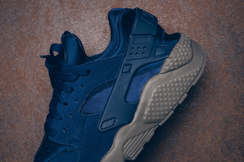 buy online 50065 35839 top quality nike huarache blue hypebeast aa7be 4c537