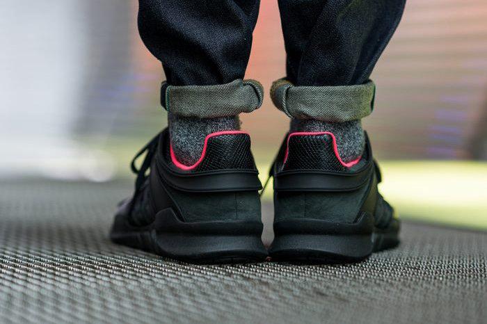 adidas - jacke, rot / schwarz neiman marcus