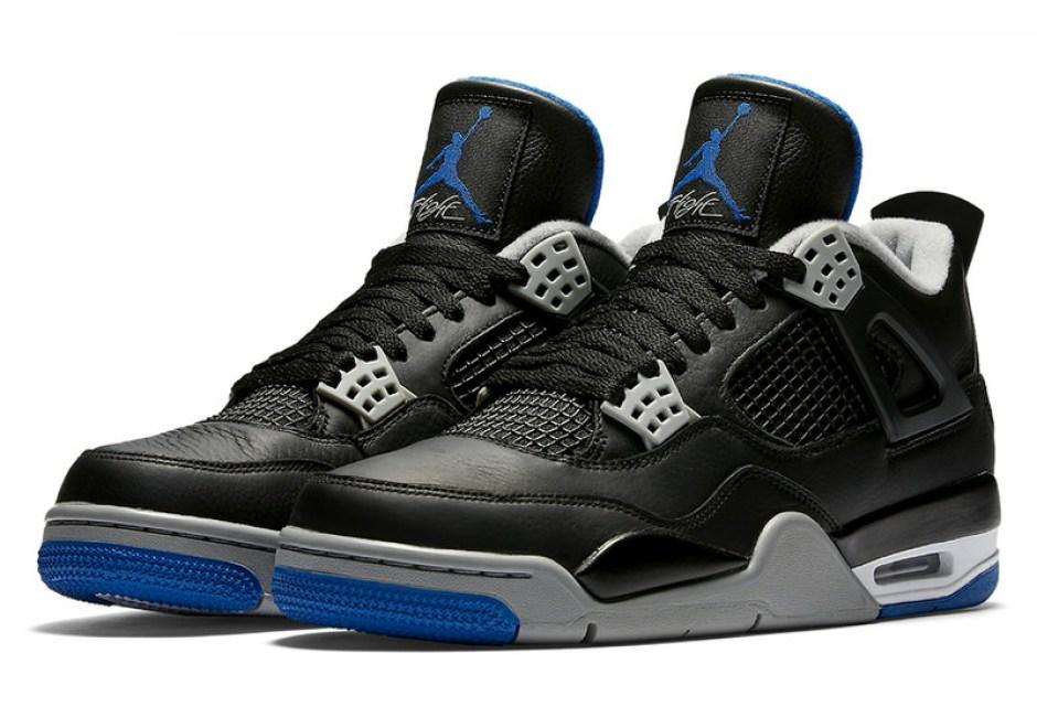 Air Jordan 4 Black/Royal