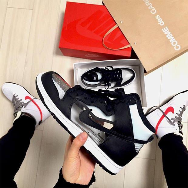 COMME des GARCONS x Nike Dunk High