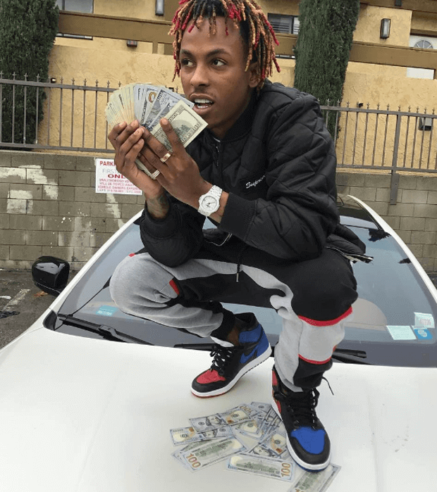 "Rich the Kid in the Air Jordan 1 ""Top 3"""