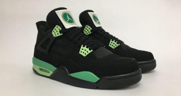 """Air Jordan 4 """"Wahlburgers"""" Custom"""