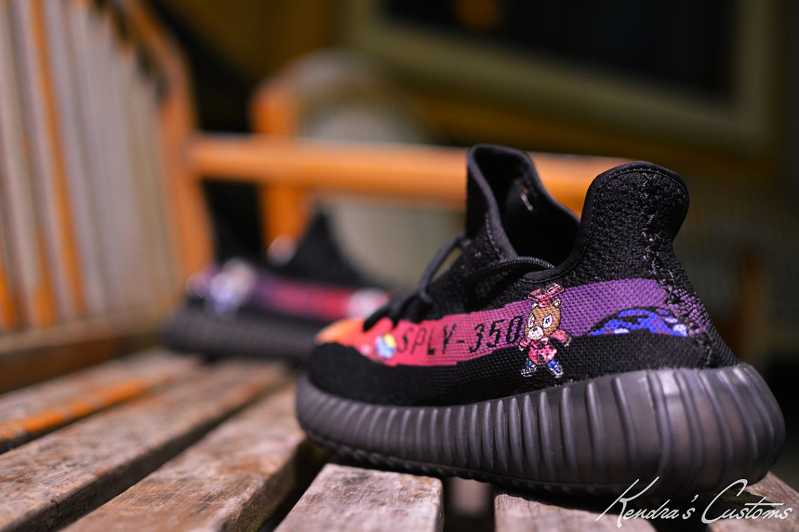 cheaper de2d1 c4067 ... adidas Yeezy Boost 350 V2 Graduation Custom by Kendra s Customs