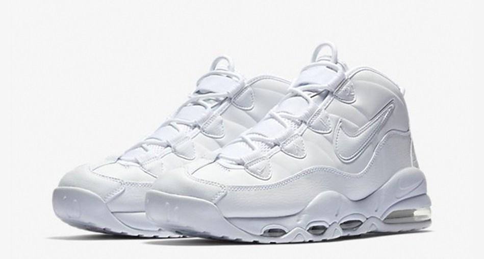 "Nike Air Max Uptempo ""Triple White"""