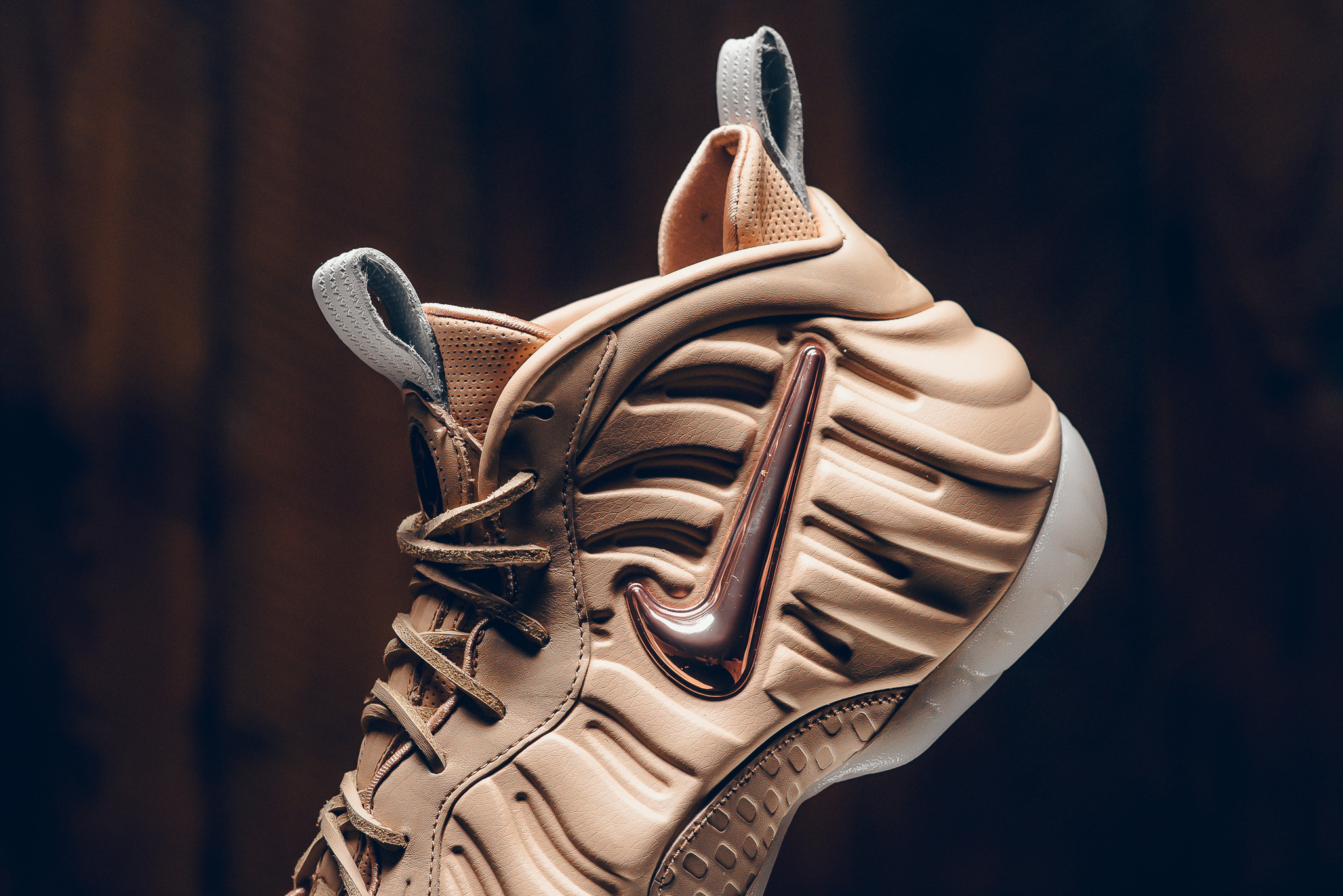 Nike foamposite one size hi top sneakers for sale grailed