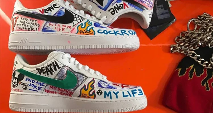 Get a Better Look at the VLONE x Nike Air Force 1 Custom the