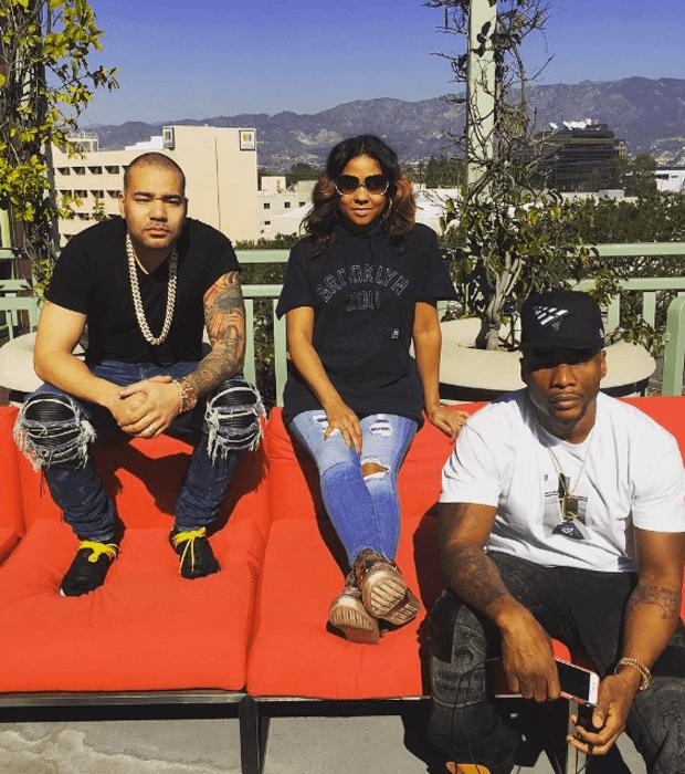 DJ Envy in the Pharrell x adidas NMD