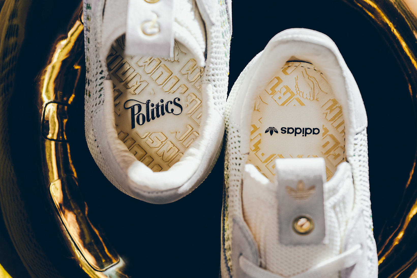 Sneaker Politics x adidas Consortium Gazelle PK Collab