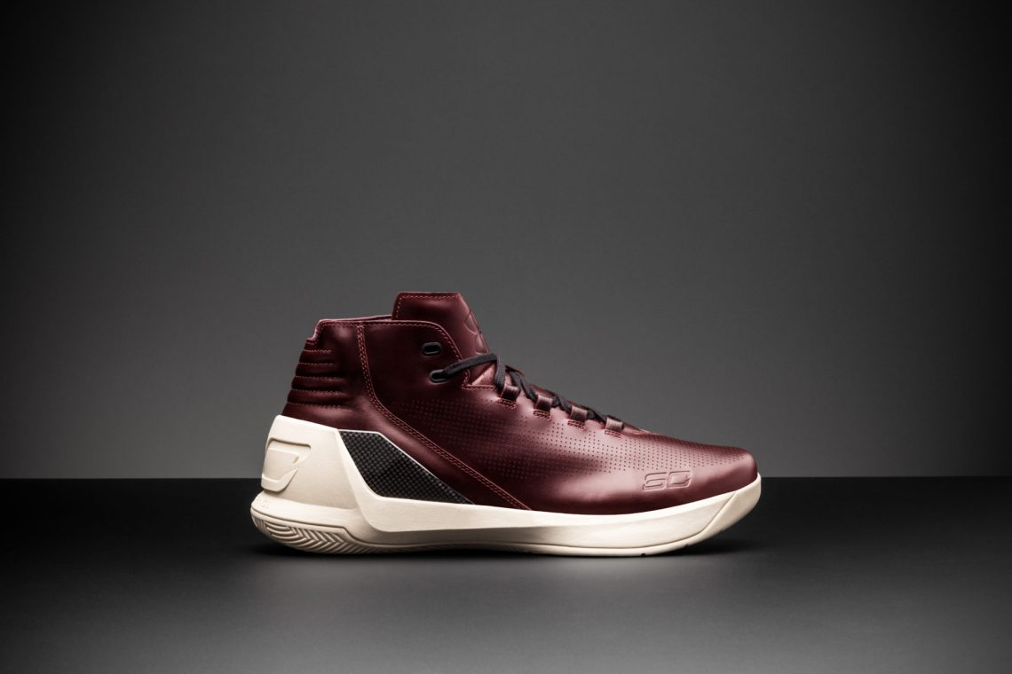 "Under Armour Curry 3 Lux ""Oxblood Leather"""
