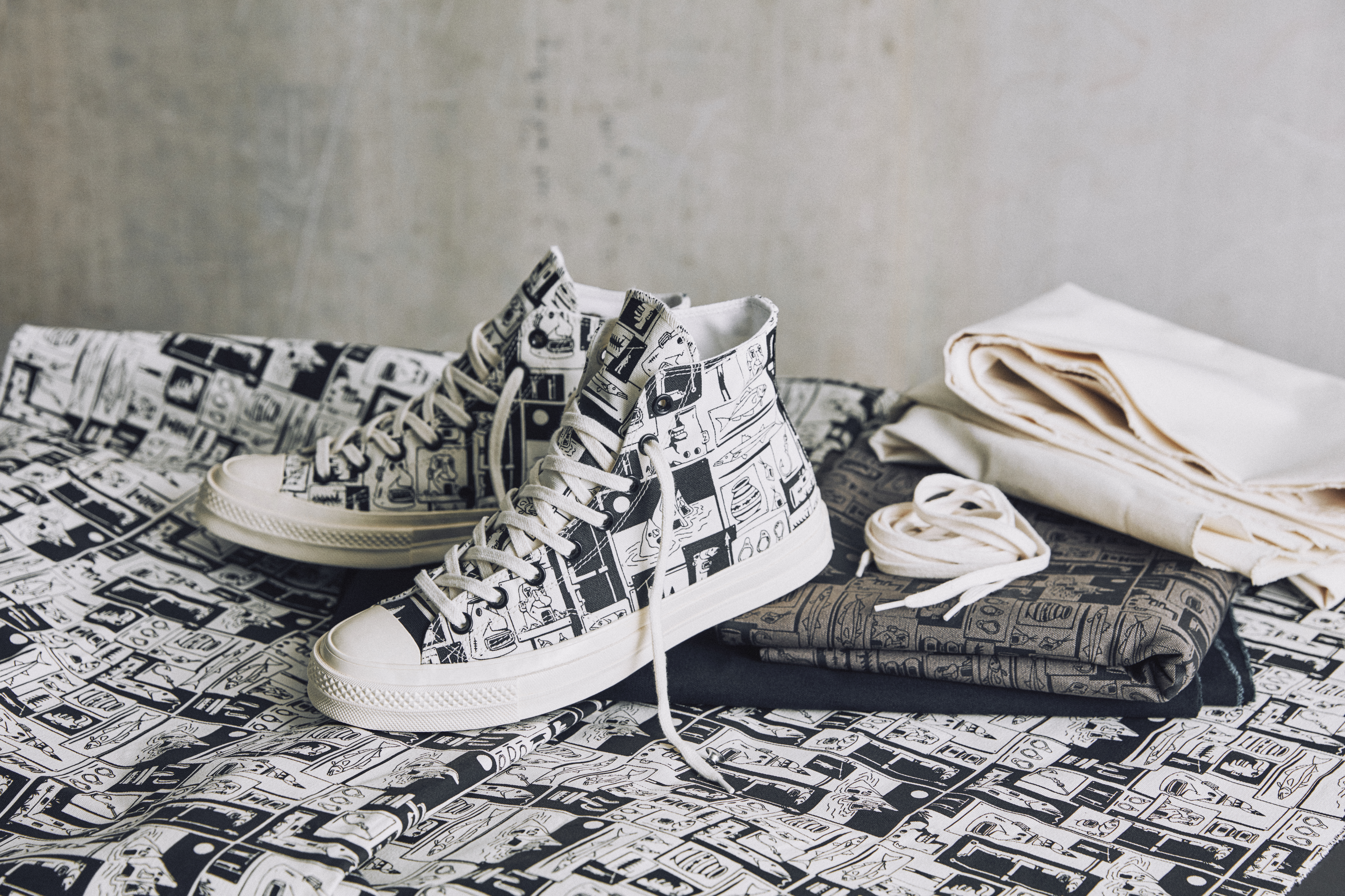 7fa28cbba86d Converse   Grotesk Join Forces for a Uniquely Customizable Collaboration