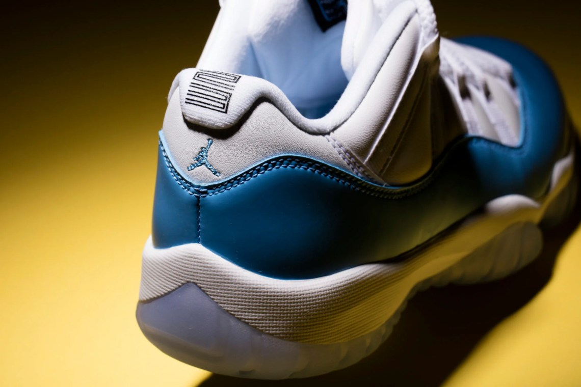 "Air Jordan 11 Low ""University Blue"""