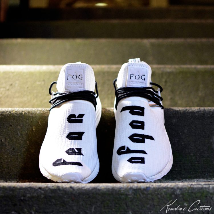 new style f6f6a 7537e Kendra's Customs Imagines Fear of God x adidas NMD Collab ...