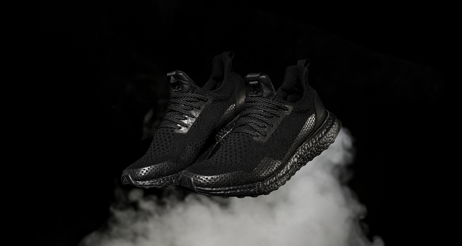 Adidas Consortium X Haven Ultra Boost Uncaged Triple Bl