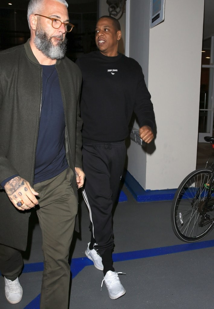 Jay Z in the adidas Ultra Boost