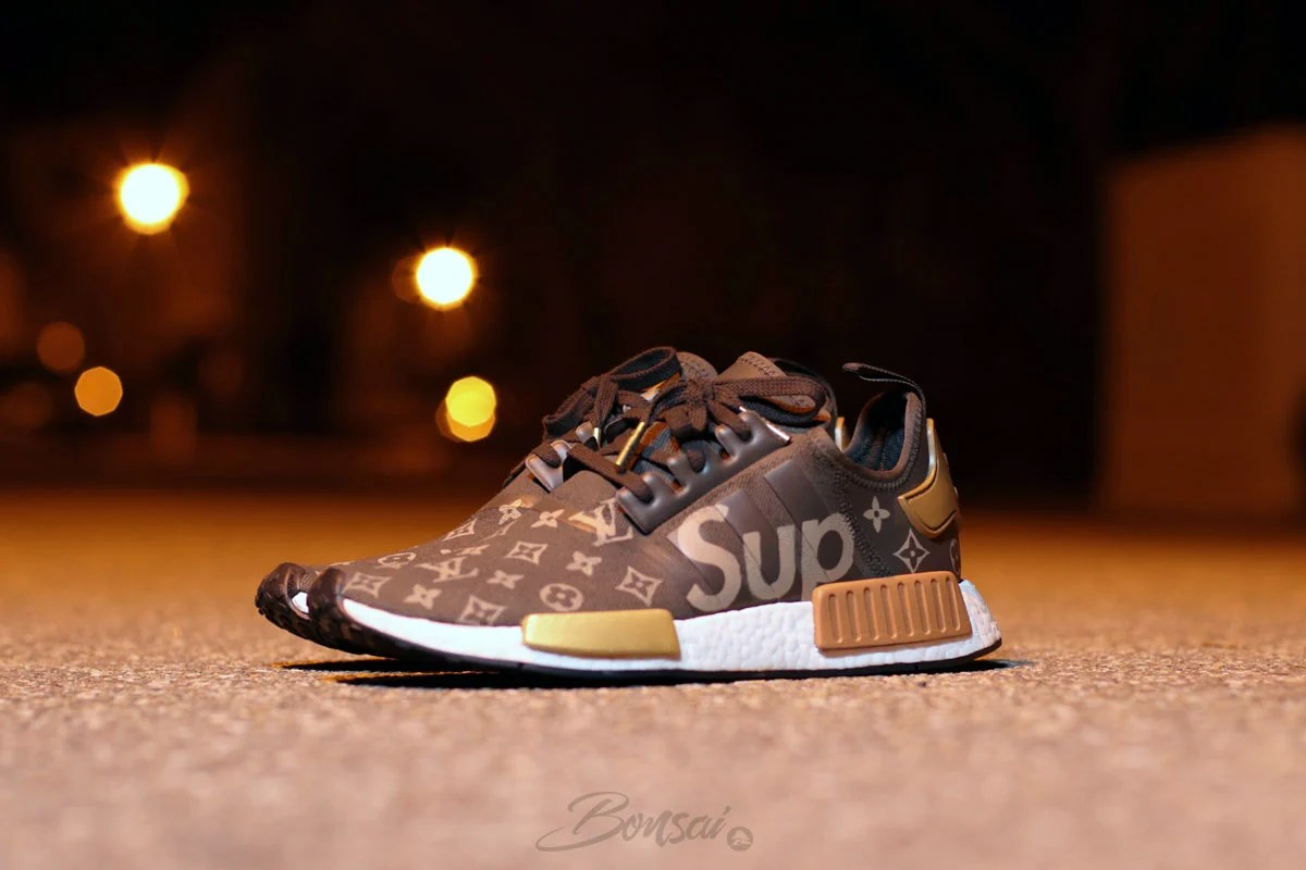 big sale 828fe fb579 SneakersNBonsai Envisions a Supreme x Louis Vuitton adidas ...