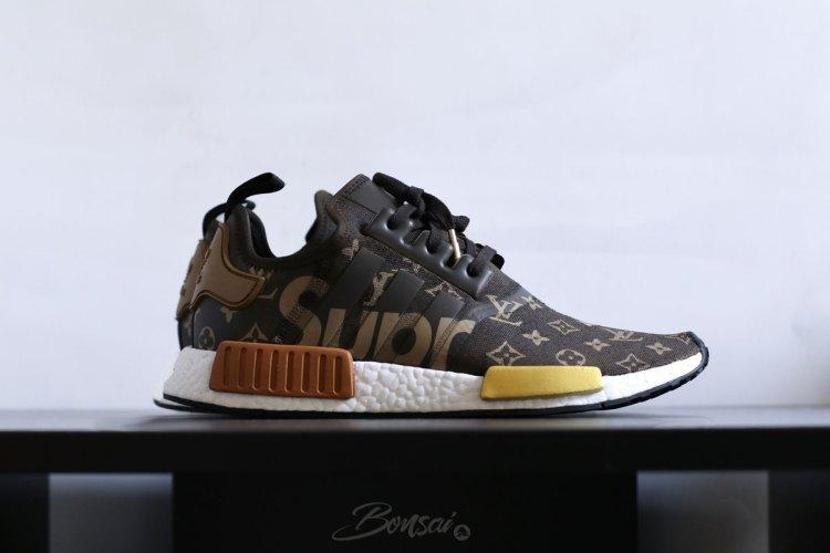 58fca8b92 SneakersNBonsai Envisions a Supreme x Louis Vuitton adidas NMD R1 ...