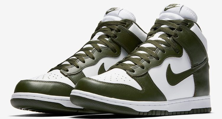 "Nike Dunk High ""Cargo Khaki"""