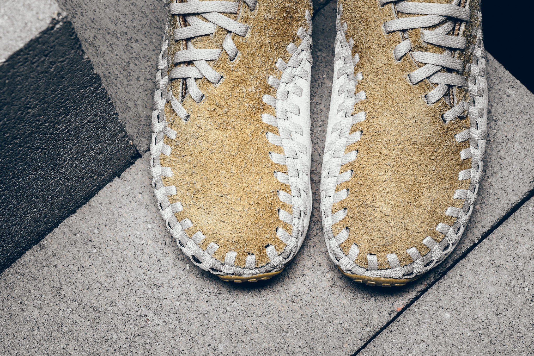wholesale dealer 89500 aab0c ... official store gold nike air footscape woven chukka flat ef017 62c0e