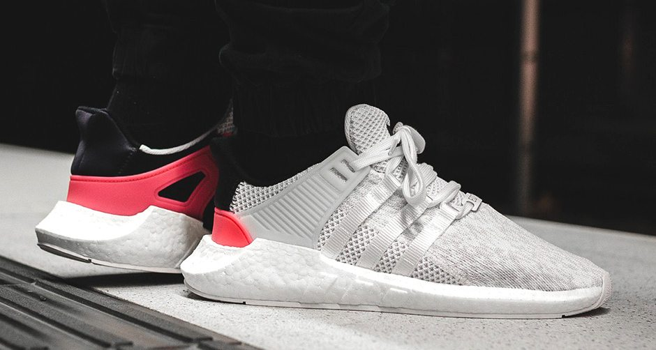 adidas EQT Support 93-17 White/Turbo Red