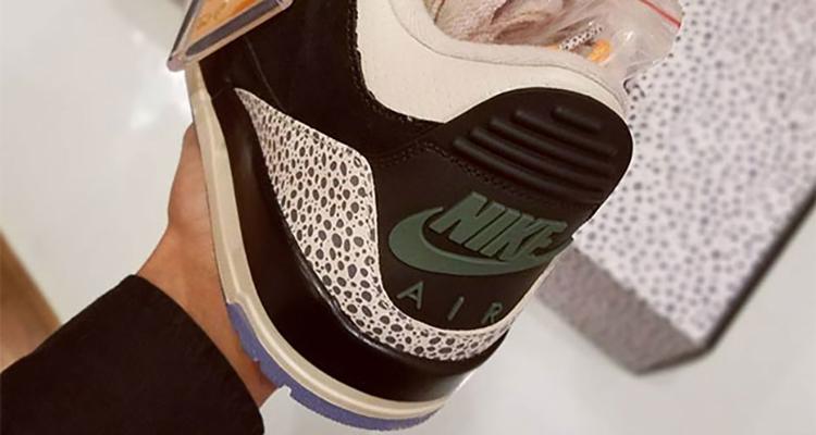 """atmos x Air Jordan 3 """"Safari"""""""