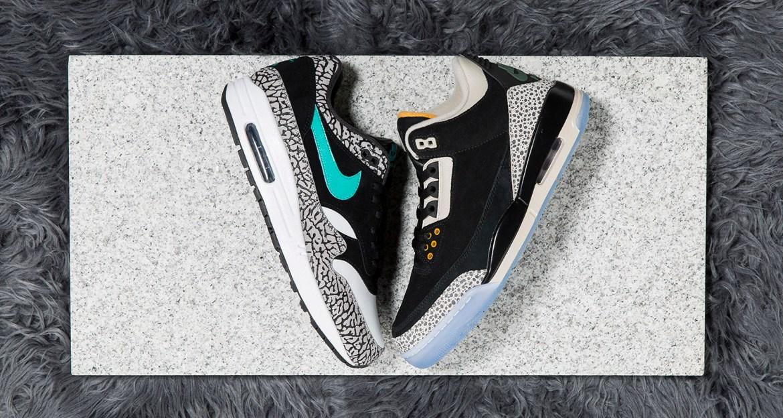 atmos x Air Jordan 3 x Nike Air Max 1 Pack