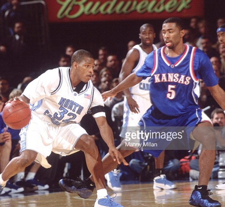 Keith Langford in the Nike Air Foamposite Pro