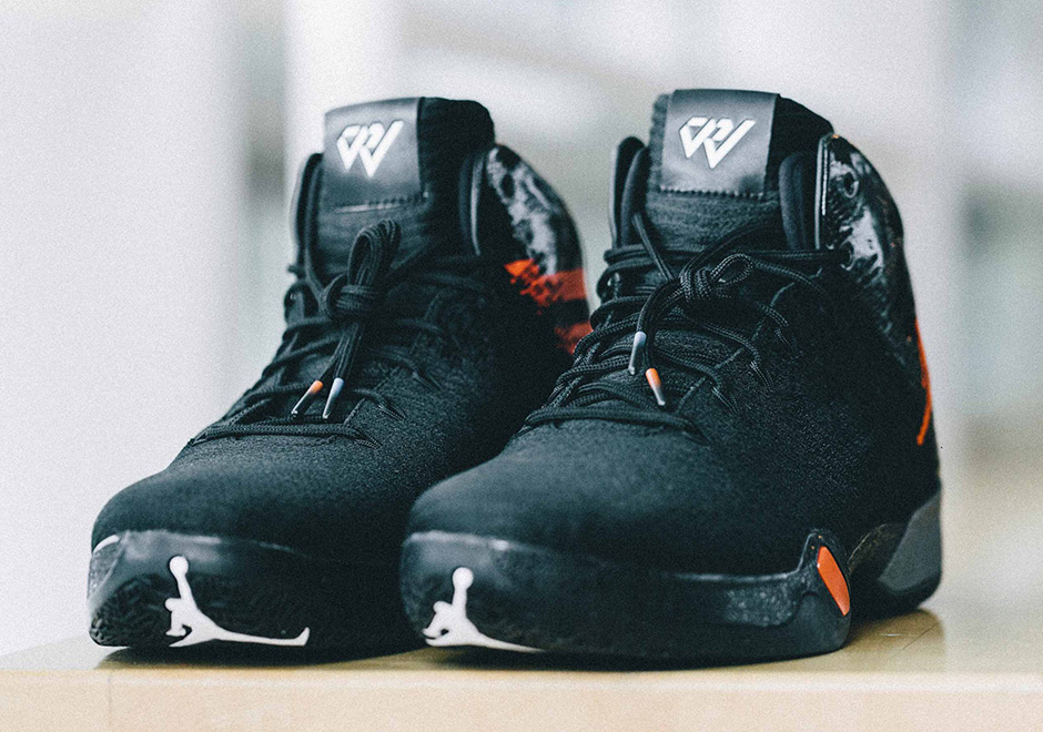 Russell Westbrook Gets Laced with Air Jordan 30.5