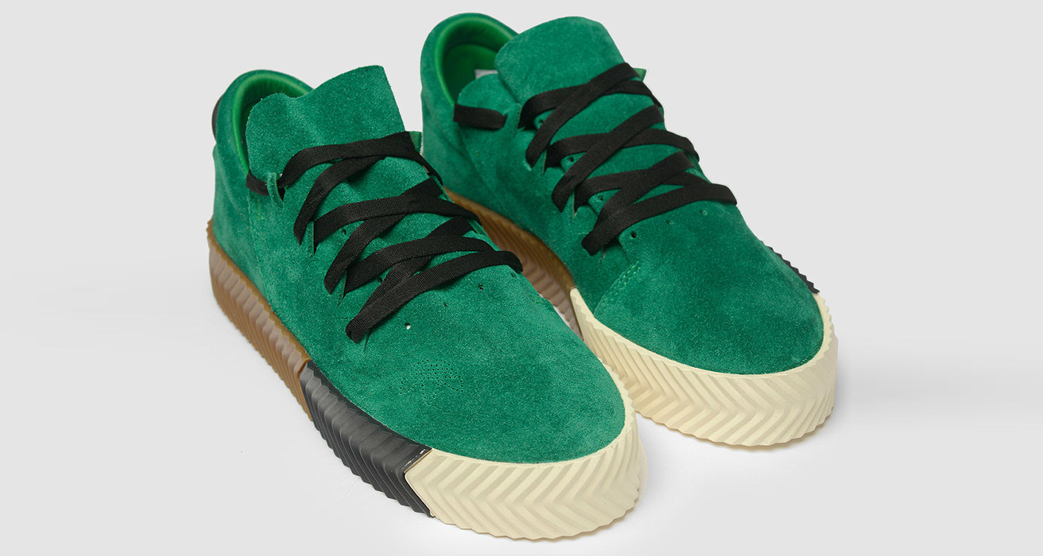 "more photos 5e827 8be82 Alexander Wang x adidas AW Skate ""Green"" Lands This Weekend"