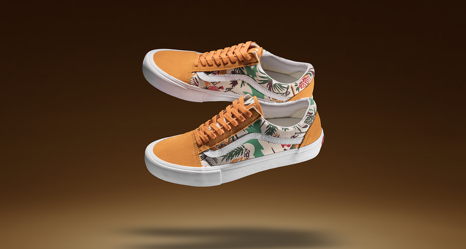 69c381fe6b4 Concepts and Vans Latest Old Skool Collaboration is Inspired by Vintage  Jamaican Prints