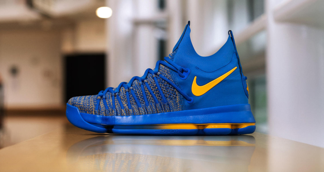 big sale 7d89a a569f Kevin Durant Gets a Special Nike KD 9 Elite | Nice Kicks