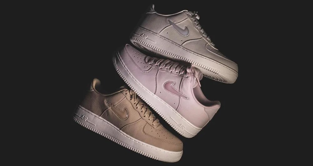 "buy popular 41008 1534c Nike Air Force 1 Low ""Jewel"" Collection Lands Tomorrow"