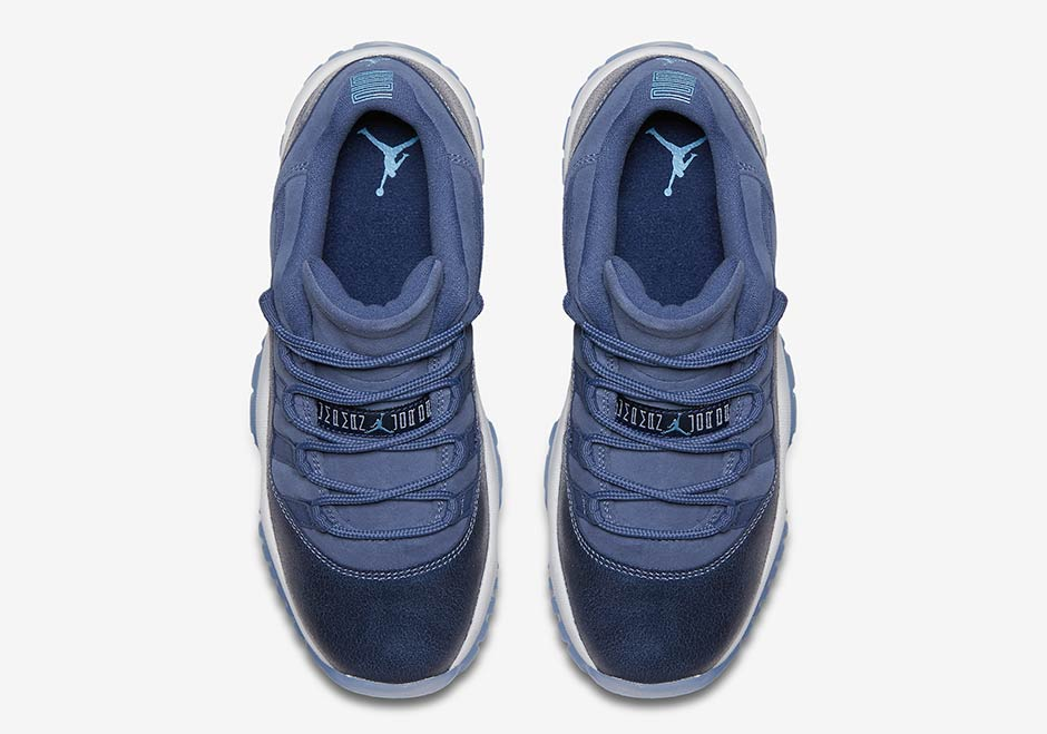 "timeless design 9ac74 3c34e Air Jordan 11 Low ""Blue Moon"" ..."
