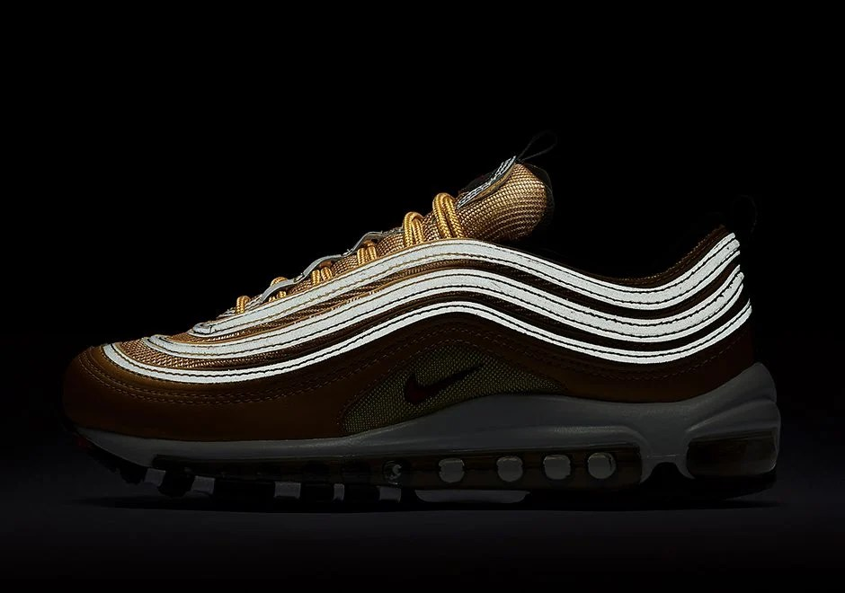 """new product 465d7 e60de ... Gold"""" Nike Air Max 97"""