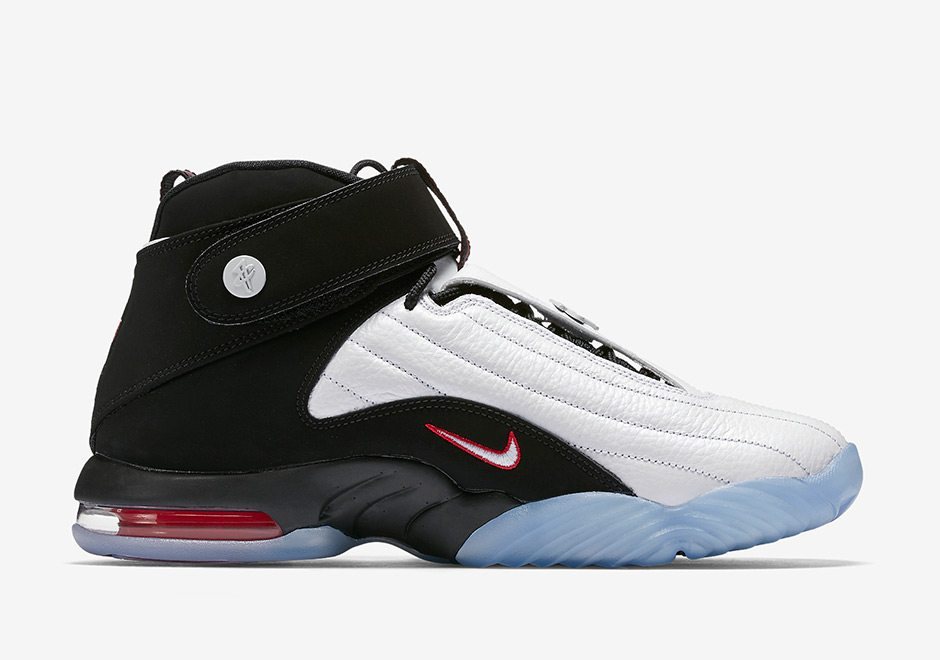 0286952a278 Nike Air Penny 4 White True Red    Release Date