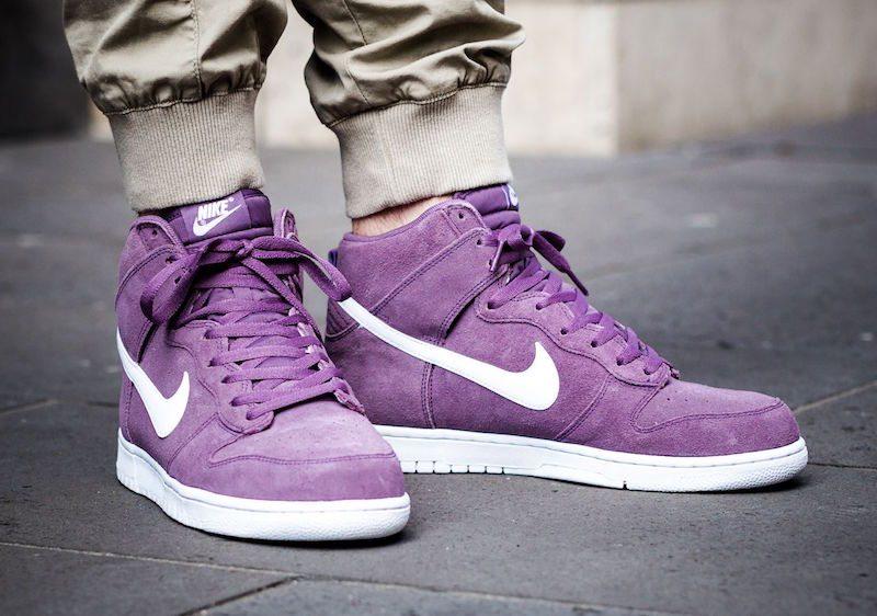 purchase cheap 26605 02f98 hot nike dunk high violet 00f90 5e213