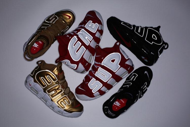 7a37d3eb223e Supreme x Nike Air More Uptempo