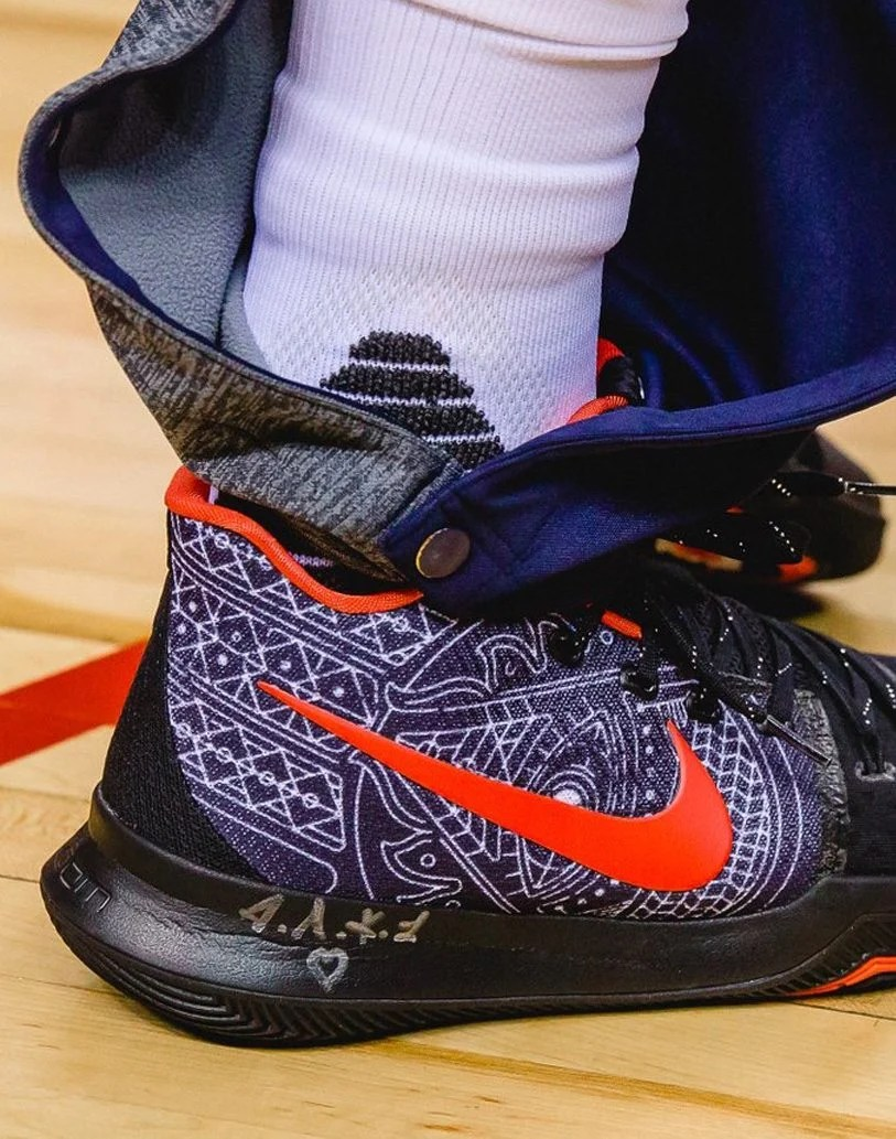 kyrie irving latest shoes