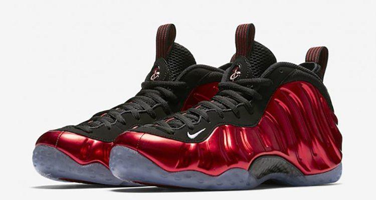 "Nike Air Foamposite Pro ""Metallic Red"""