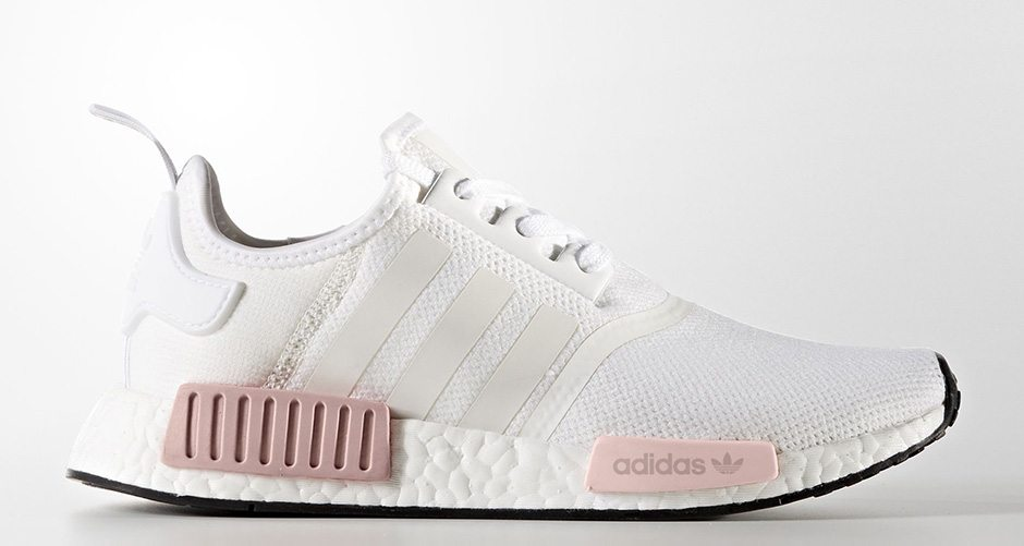 "adidas NMD R1 ""White Rose"""
