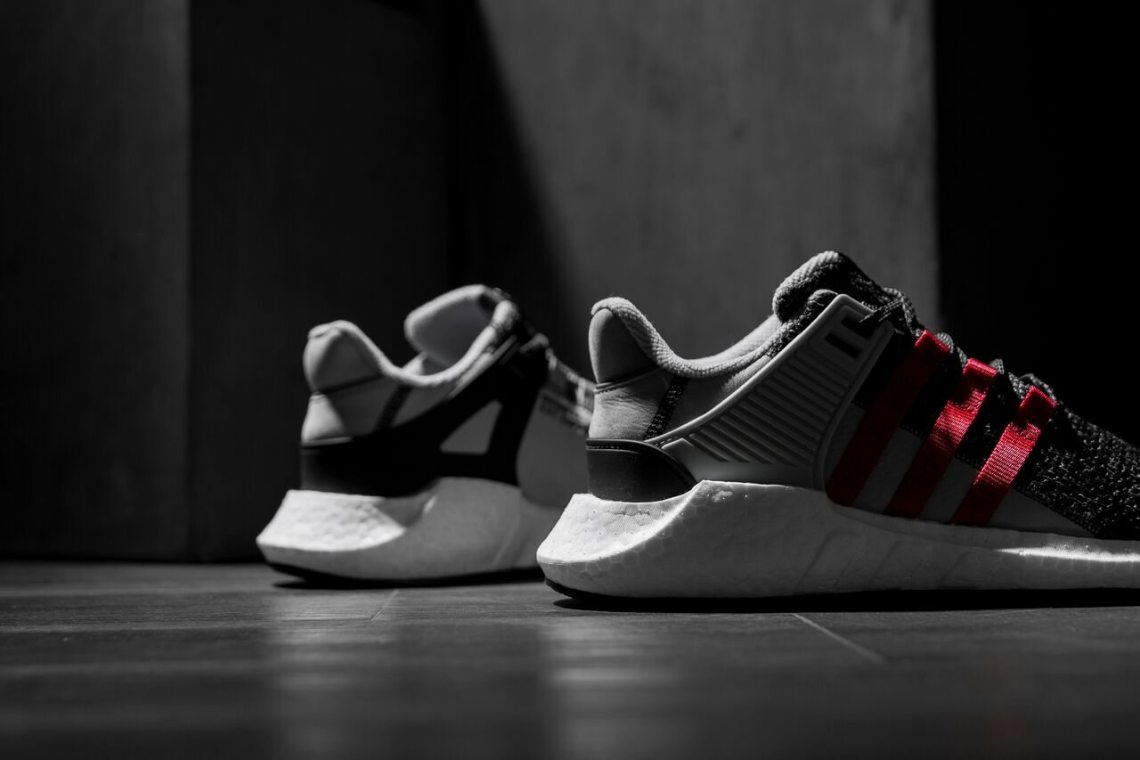 ADIDAS EQT SUPPORT RF CORE BLACK/TURBO RED BB1319