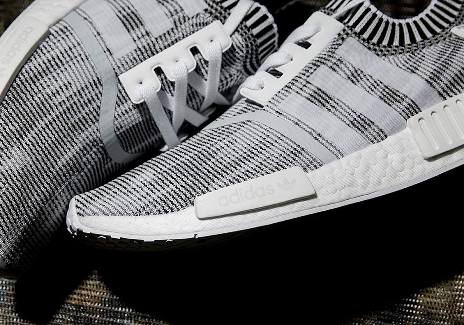 Mens adidas NMD R1 Nomad The BRAND With 3 Stripes Whiteout