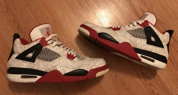 "4cd00d13a21 In Retrospect    Air Jordan 4 Laser ""Fire Red"" Pack"