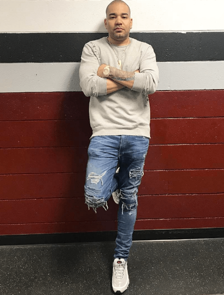 newest 8526f f8961 ... amazon dj envy in the nike air max 97 silver bullet af1bd 12d71