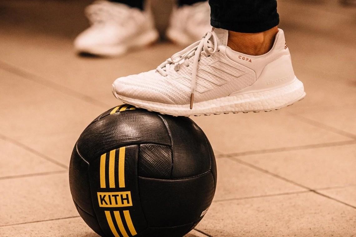 "free shipping 7b354 cf059 Kith x adidas Copa Mundial Ultra Boost ""Cobras"""