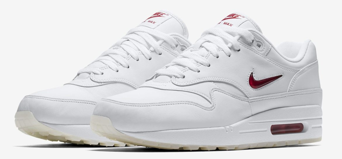 Nike Air Max 1 Premium SC Jewel White/Red