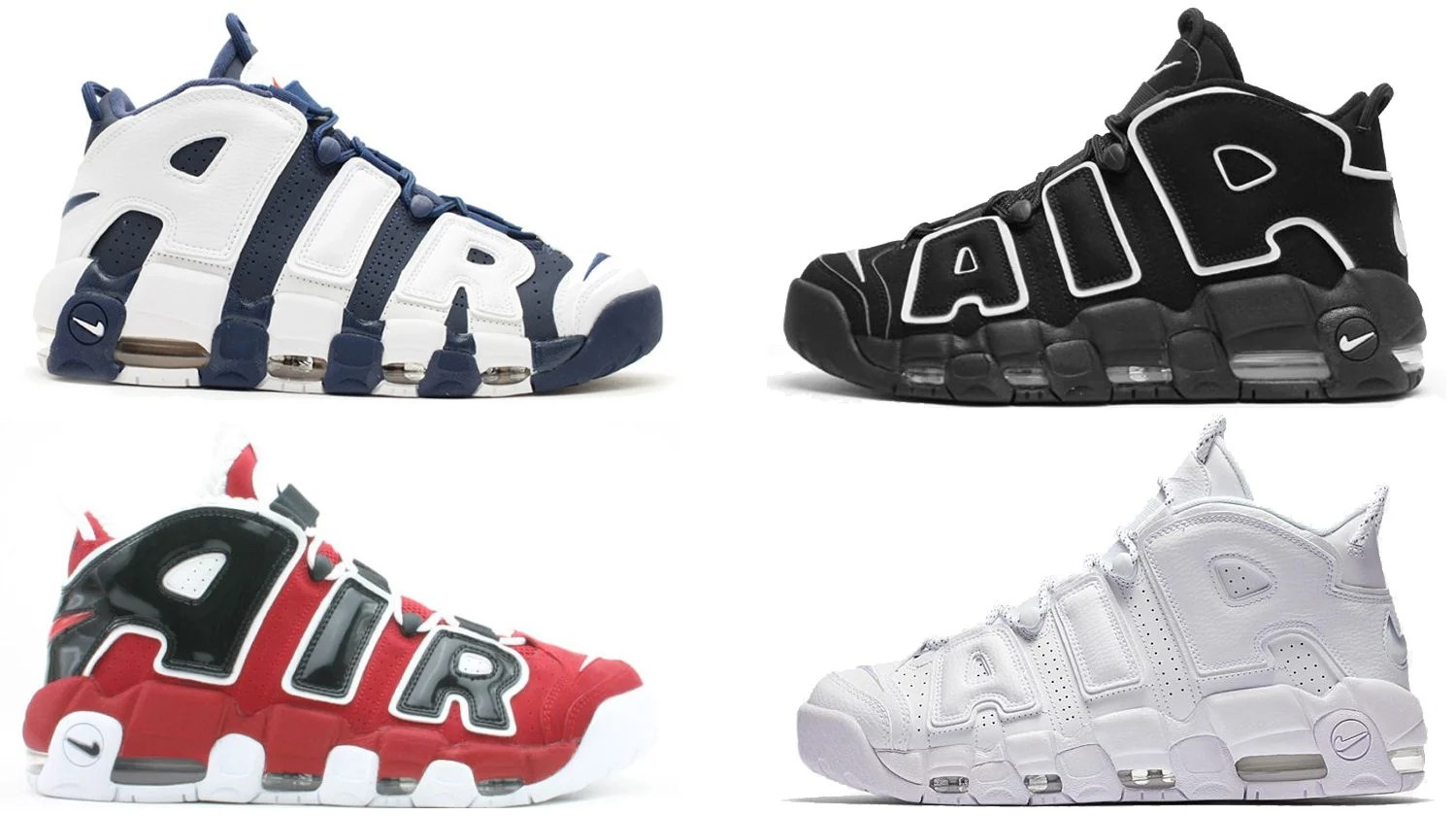 cfa42e29600 nike air more uptempo colorways