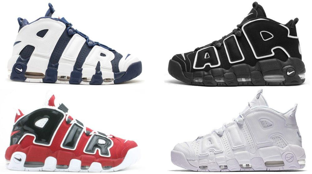 YOU Rank the Best Nike Air More Uptempo Colorways